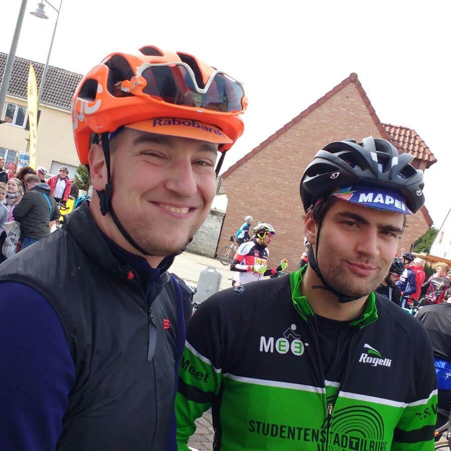 Cobbles Cycling Parijs Roubaix Challenge Jef Linskens Robbert de Bruijn