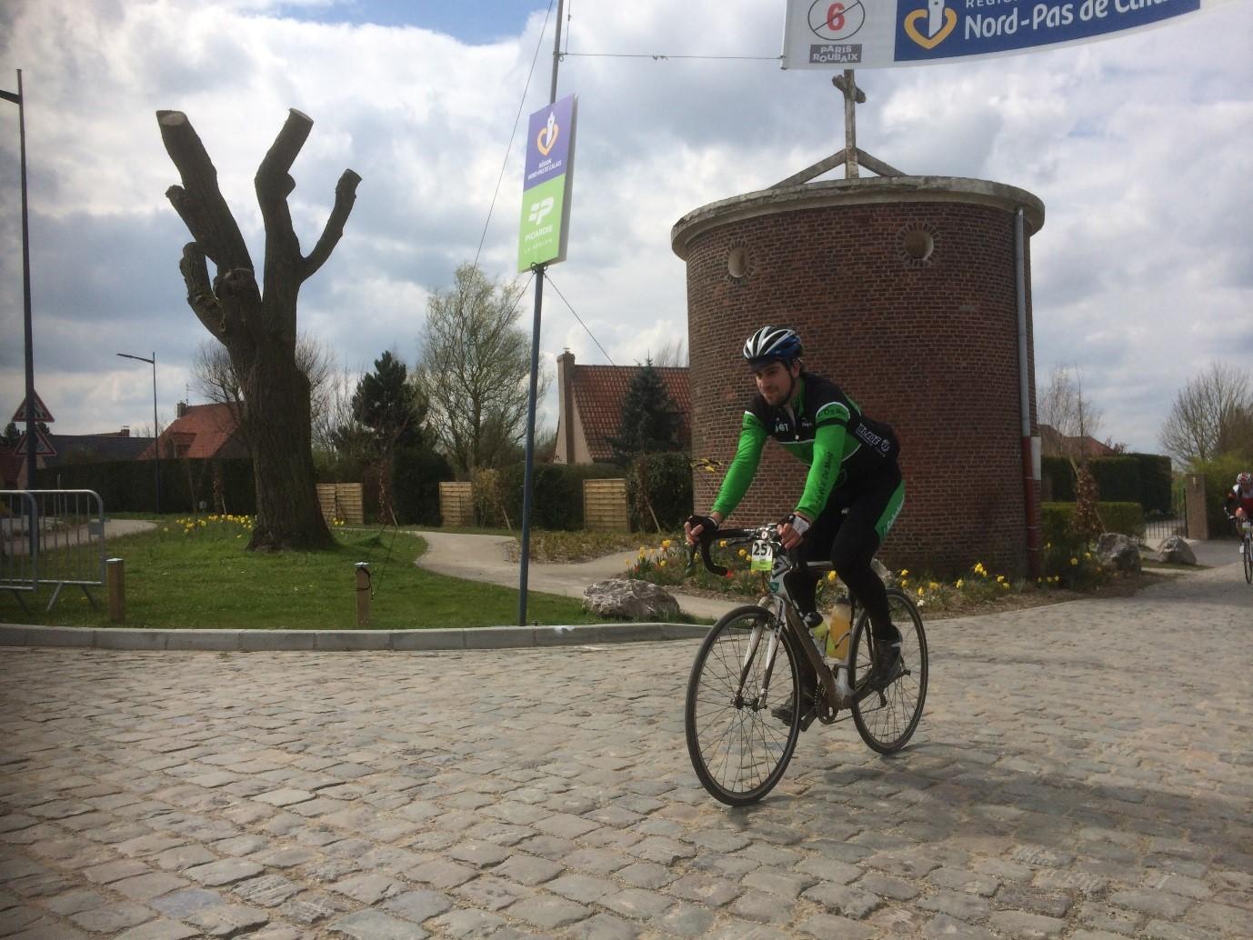 Cobbles Cycling Parijs Roubaix Challenge Jeroen Rombouts