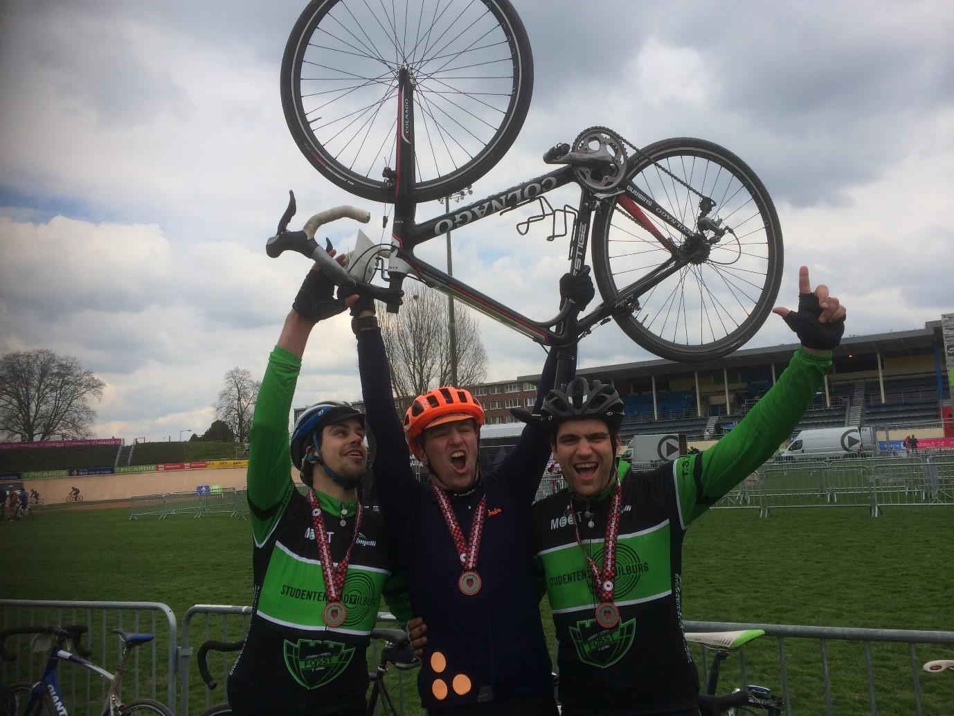 Cobbles Cycling Parijs Roubaix Challenge Velodrome