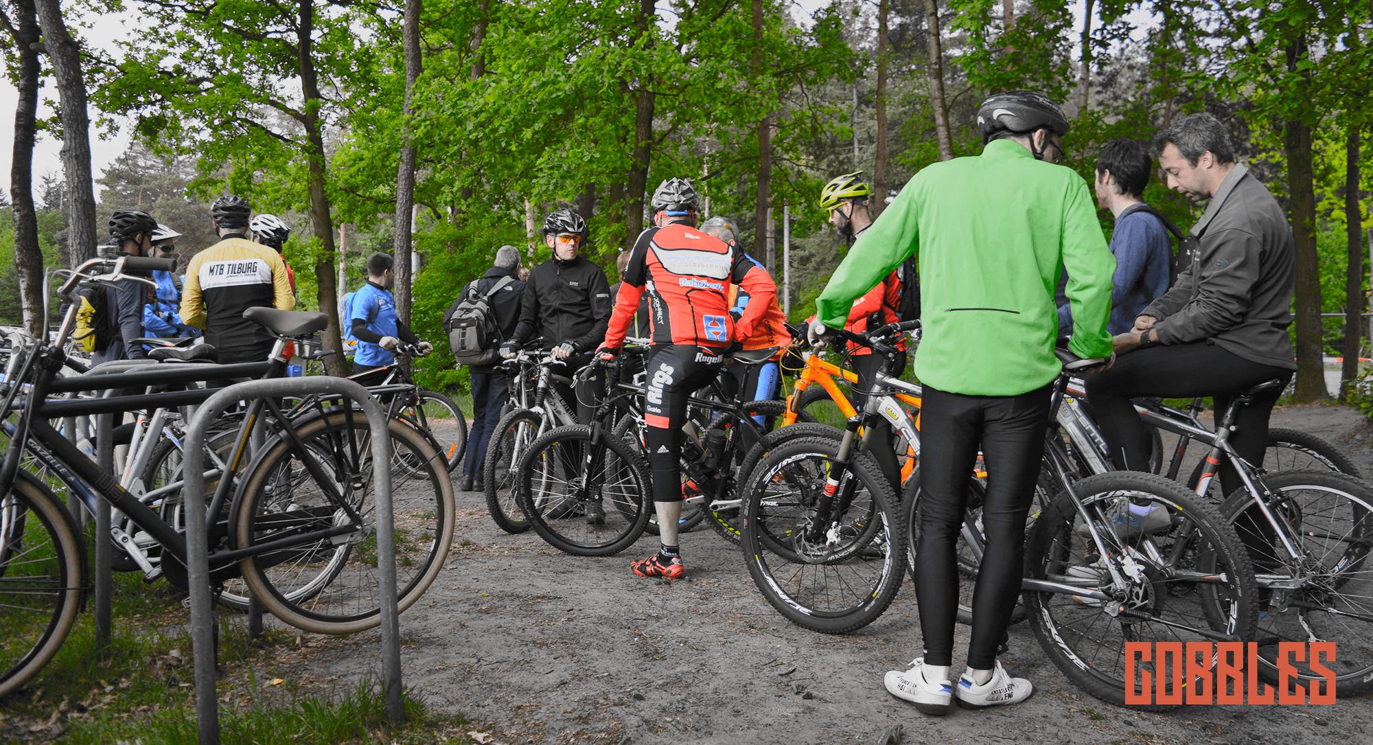 Cobbles Cycling mountainbikeroute Stadsbos013 MTB Tilburg Esbeek Cisco WC Pijnenburg