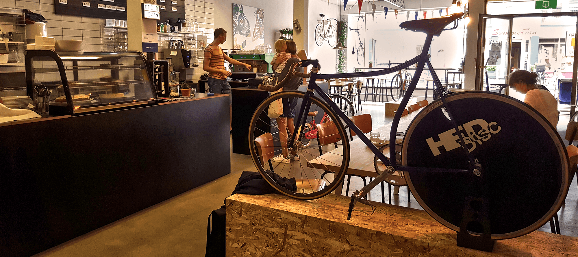 Is het een koffietentje of een fietsenzaak? Kamu Breda