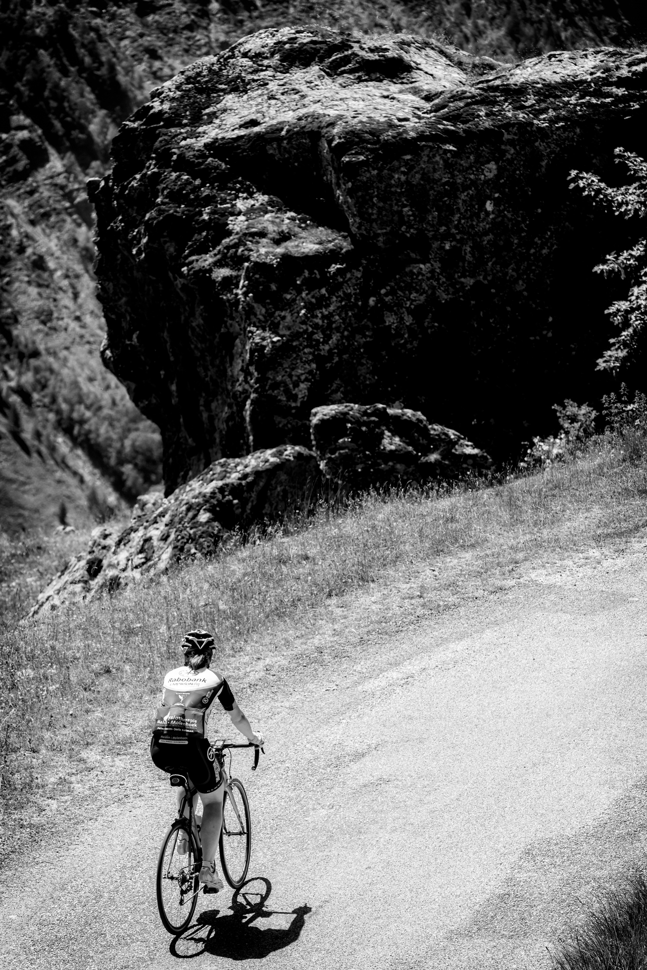 Marjolijn van Lier La Marmotte Cobbles Cycling