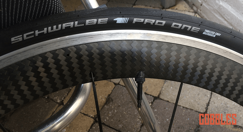 Tubeless racefiets