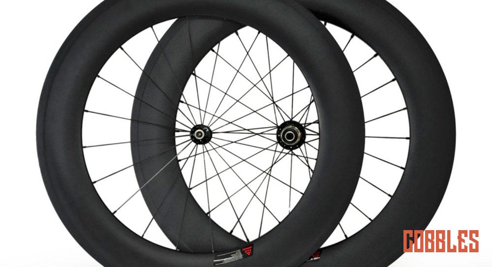 Cobbles tweedehands fiets hoge wielen
