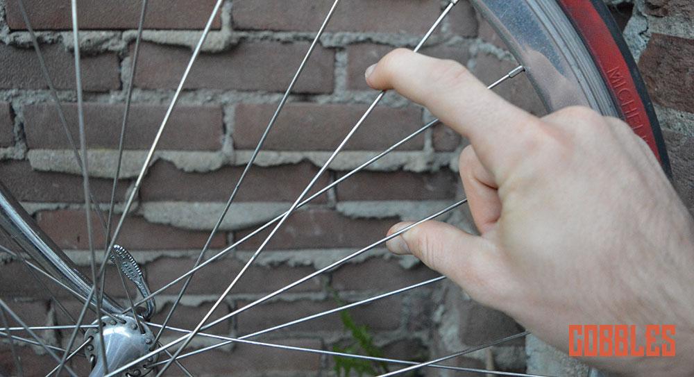 Cobbles tweedehands fiets Spaakspanning