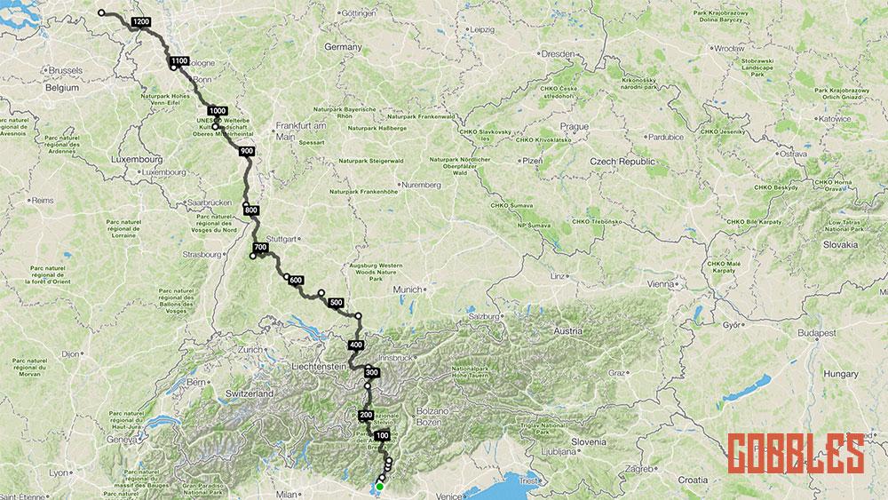 Cobbles bikepacking Italie Nederland Jeroen Rombouts