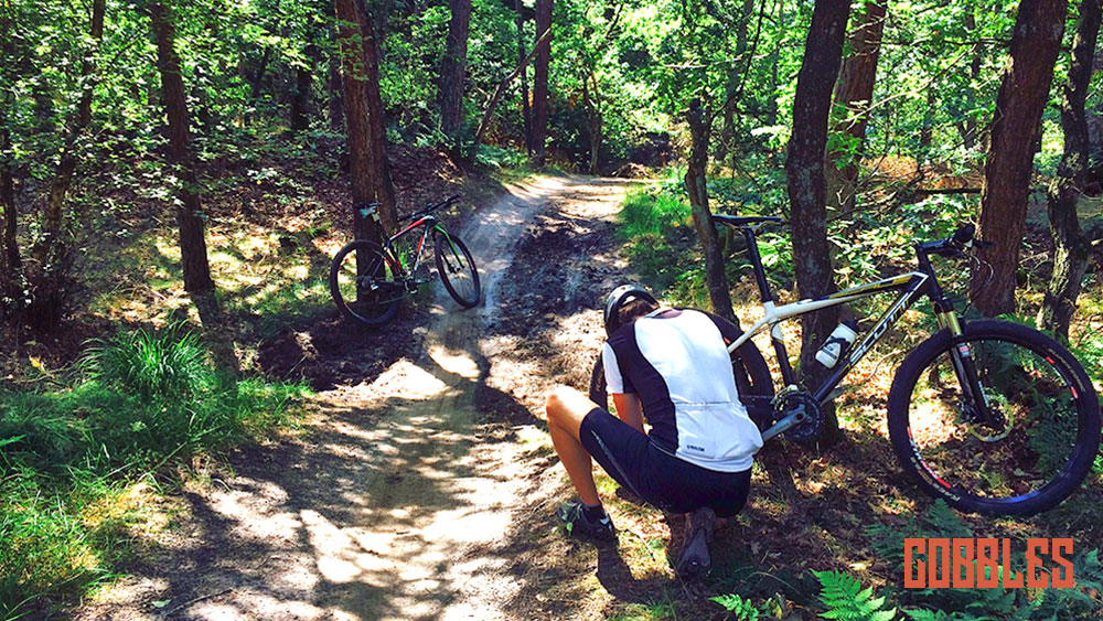 Mountainbikeroute Loonse en Drunense Duinen