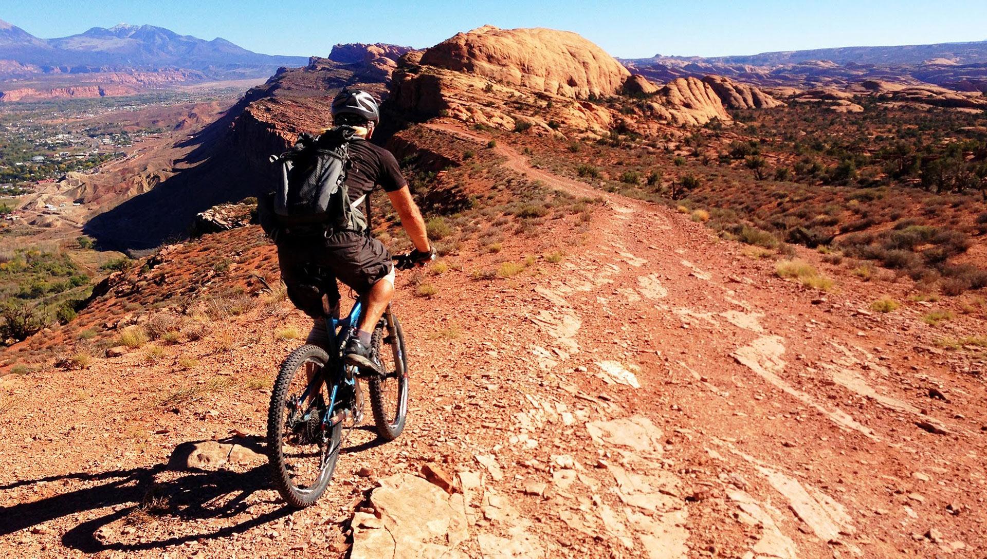 Mountainbike trails: Moab