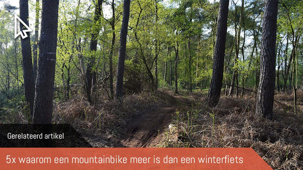 Cobbles mountainbiken spatborden