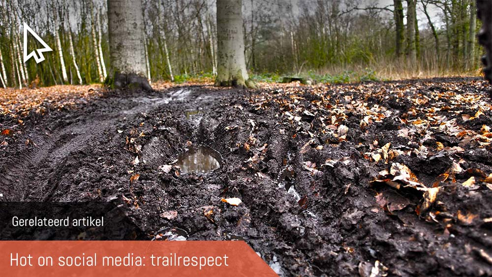cobbles gerelateerd mountainbiken trailrespect