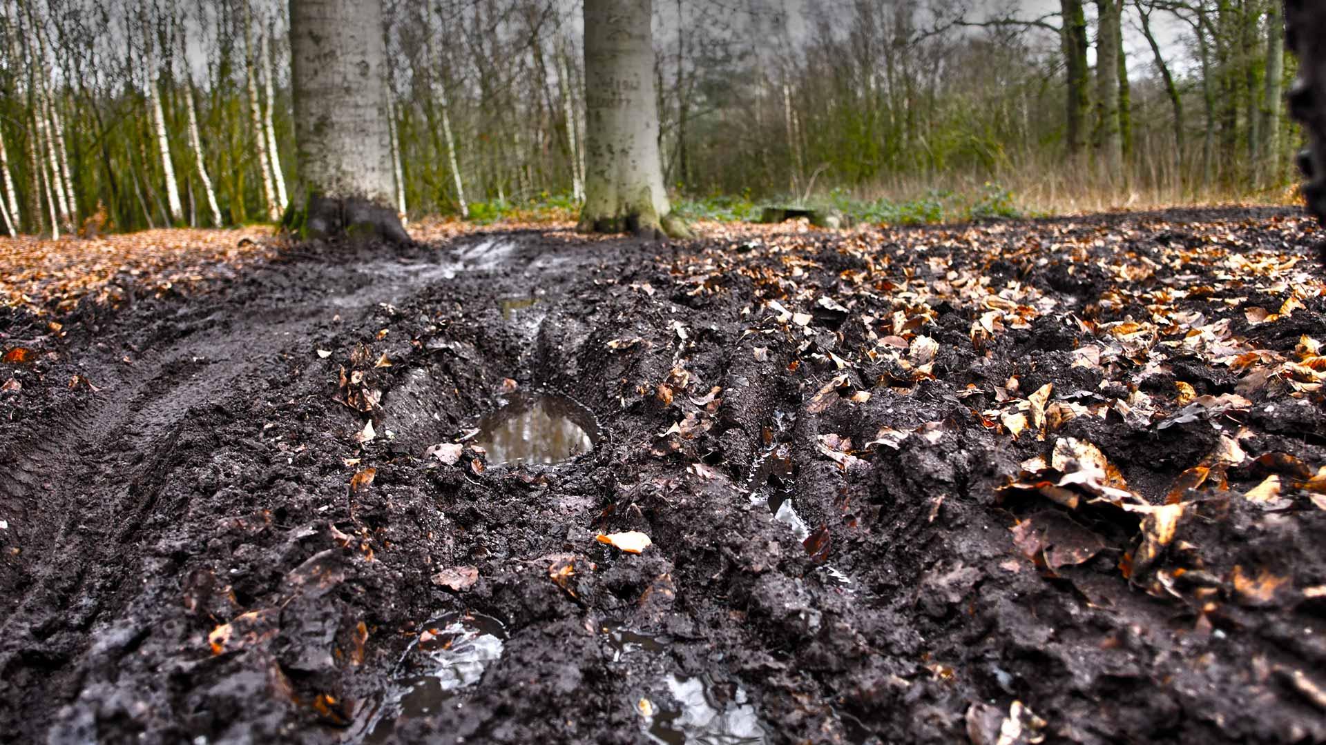Trailrespect: laat je mountainbikeroute heel in de winter