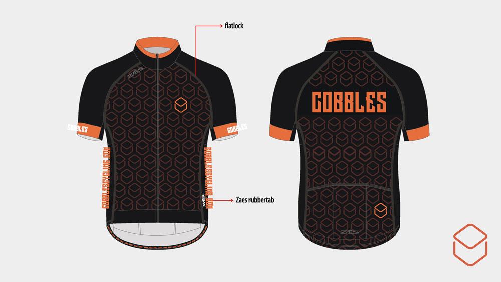 Cobbles-wielrennen-mountainbiken-fietskleding-jersey