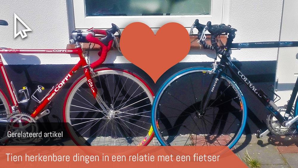 Cobbles wielrennen samen fietsen relatie