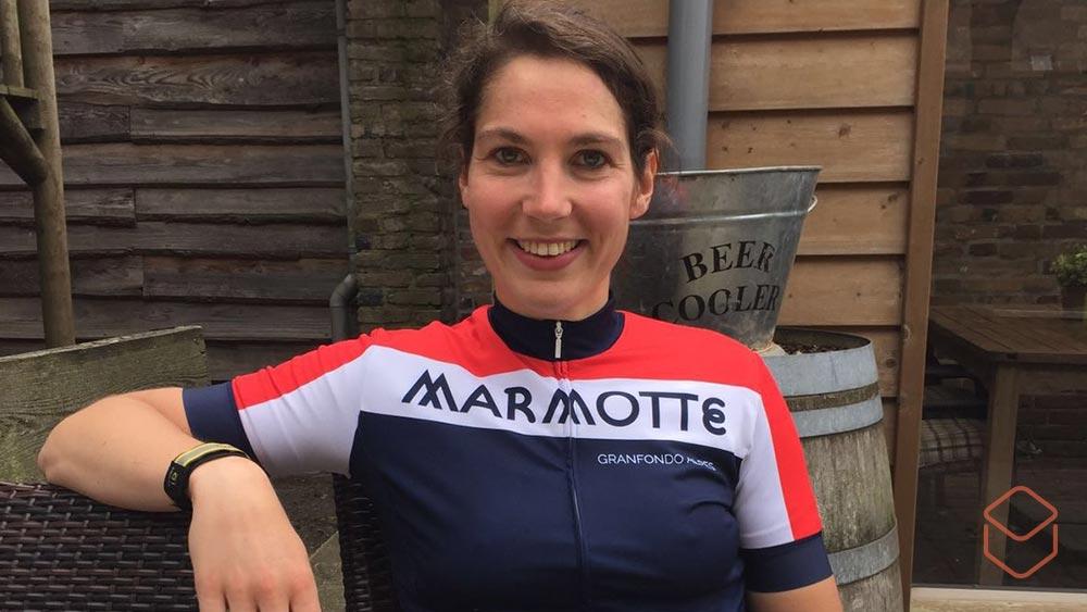 Cobbles fietskleding vrouwen Marmotte