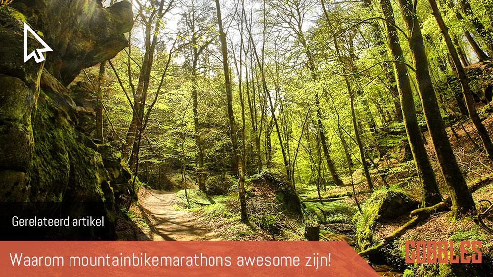 cobbles gerelateerd mountainbike marathon