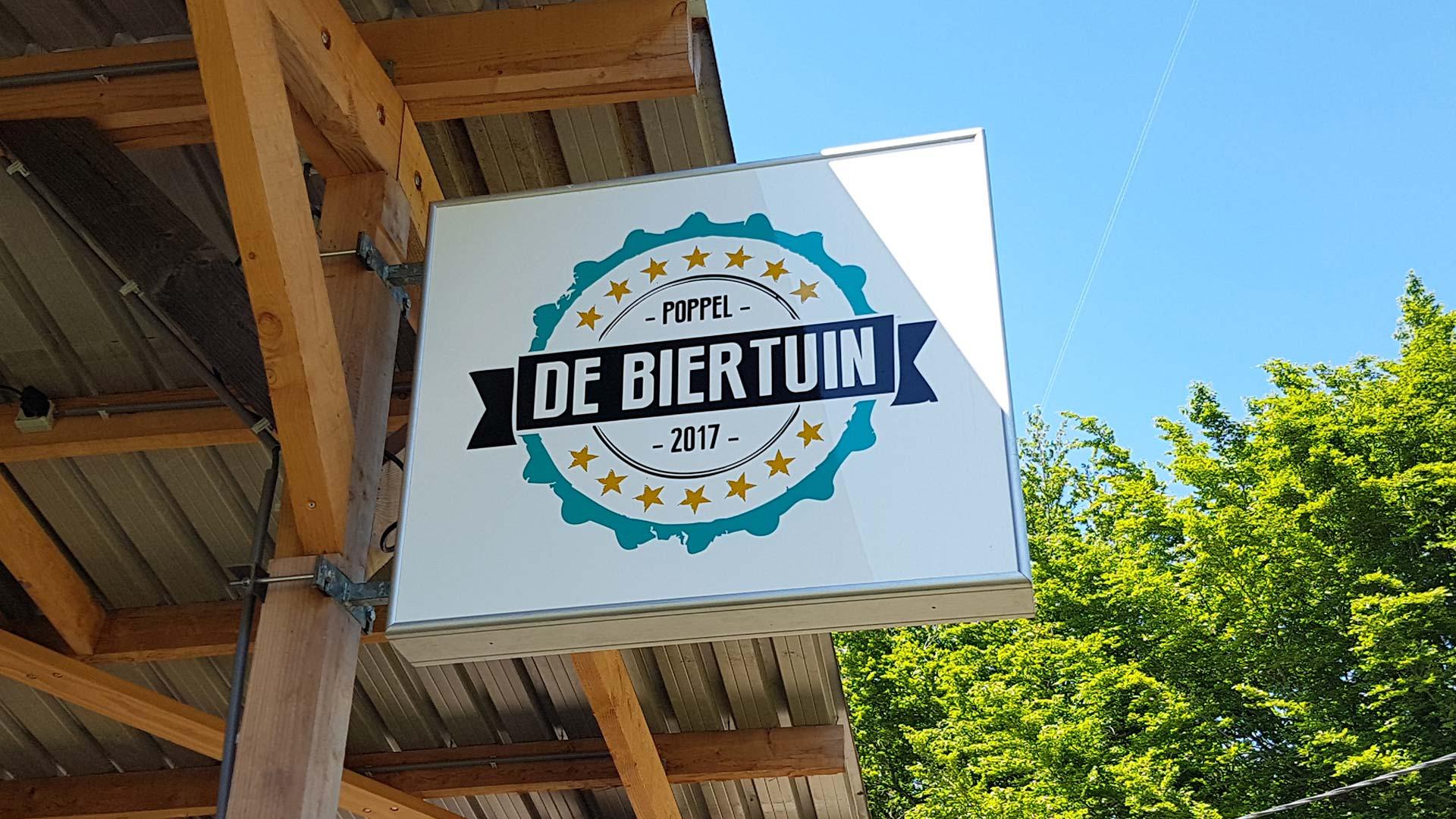 Biertuin Poppel: een perfecte stop tijdens een mooie dag