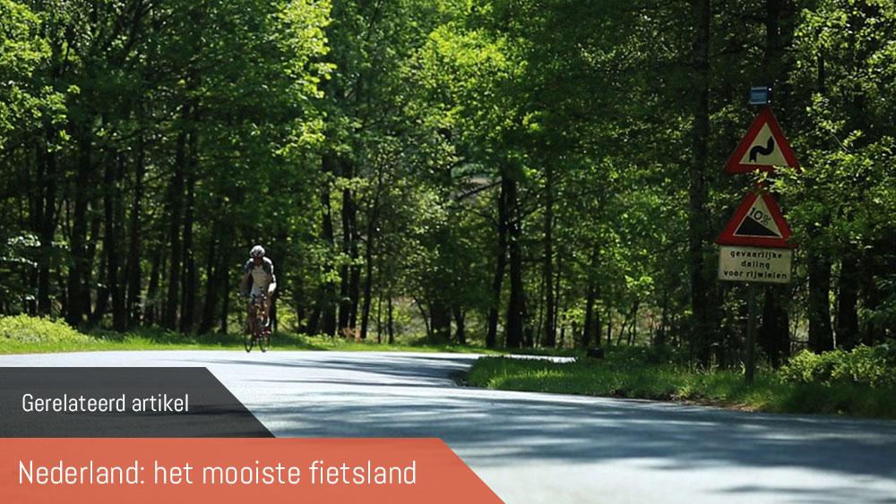 Cobbles gerelateerd wielrennen nederland mooiste fietsland sallandse heuvelrug