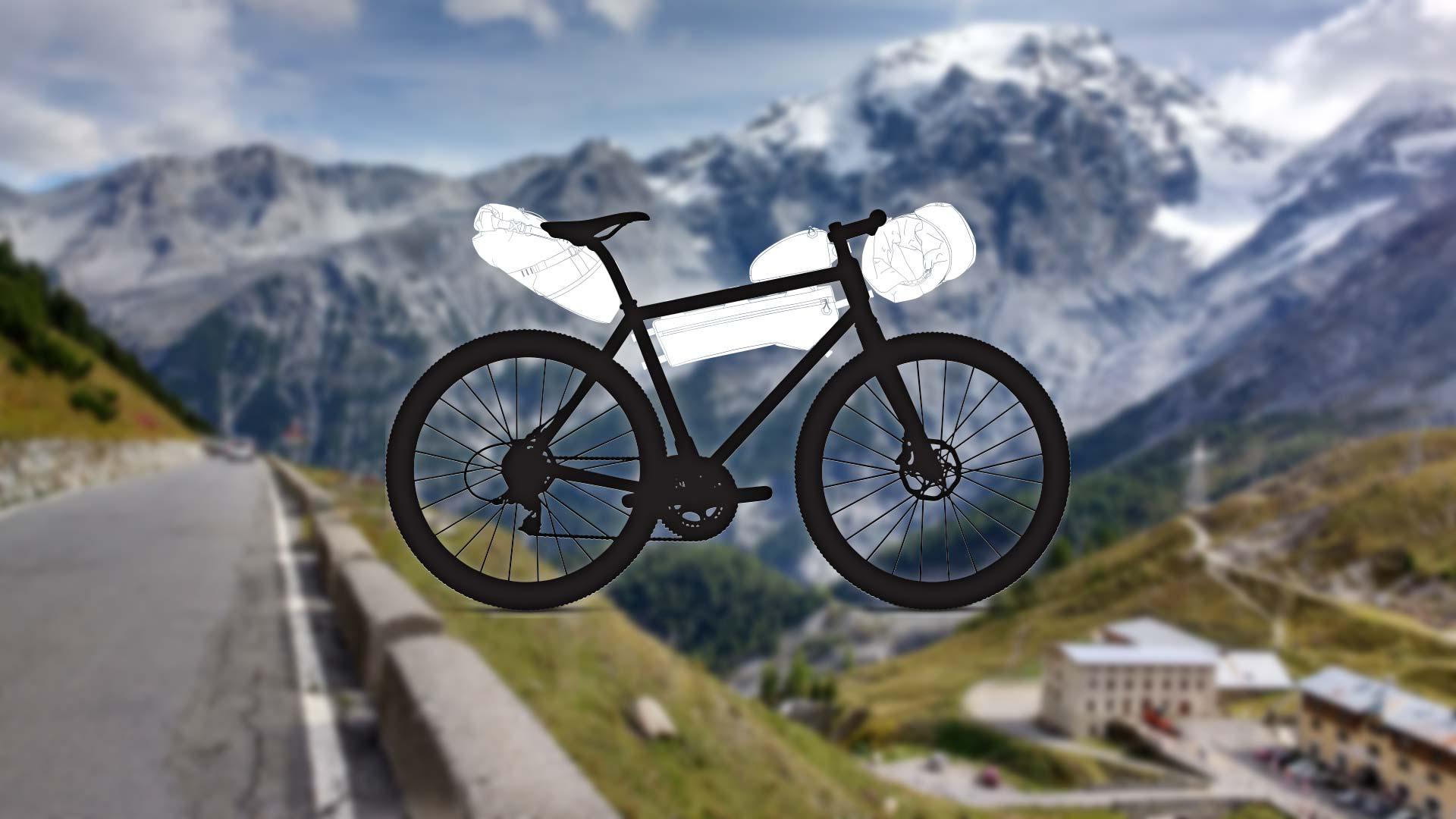 4 soorten bikepacking fietstassen: de voor- en nadelen