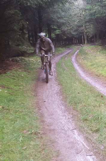 mountainbiken goed voor afvallen