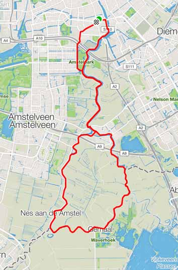cobbles wielrennen routes amsterdam ronde hoep