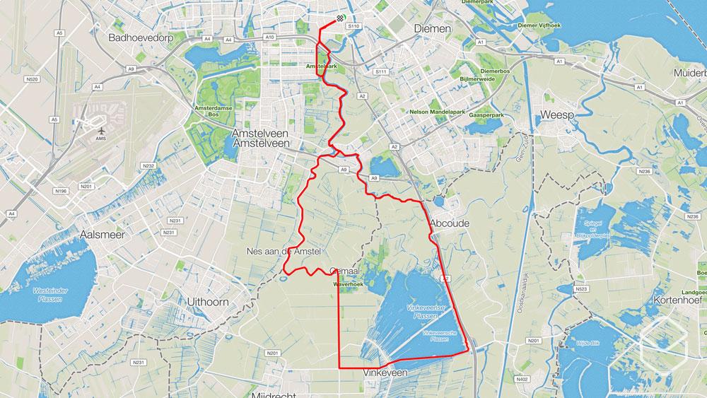 cobbles wielrennen routes amsterdam ronde vinkeveense plassen
