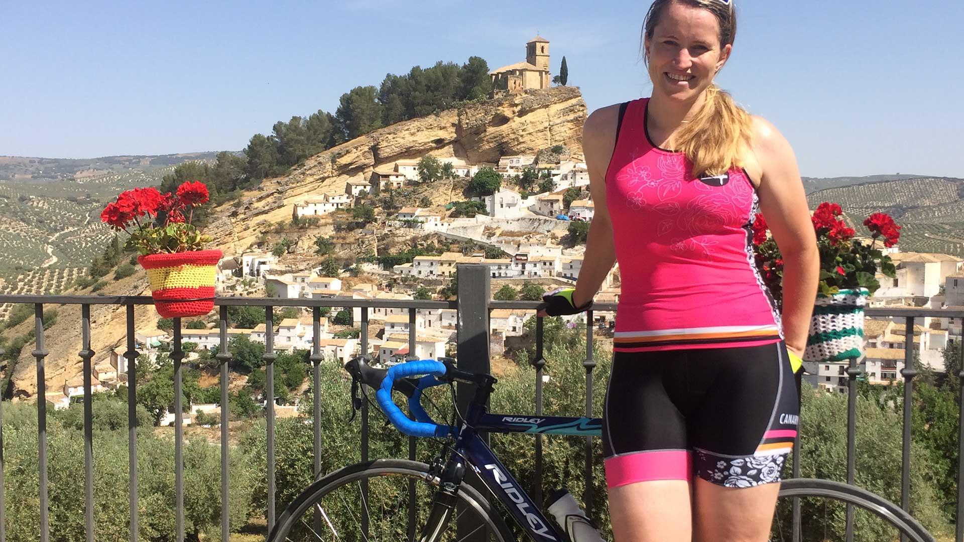 Wielrennen na een zware aanrijding: lees het verhaal van Sarah Brock