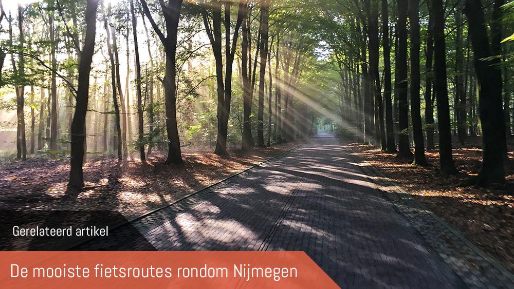cobbles fietsroutes nijmegen