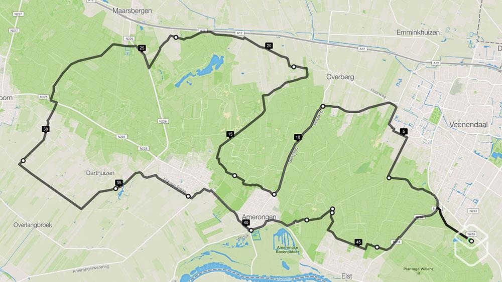 cobbles-wielrennen-routes-utrechtse-heuvelrug-50km