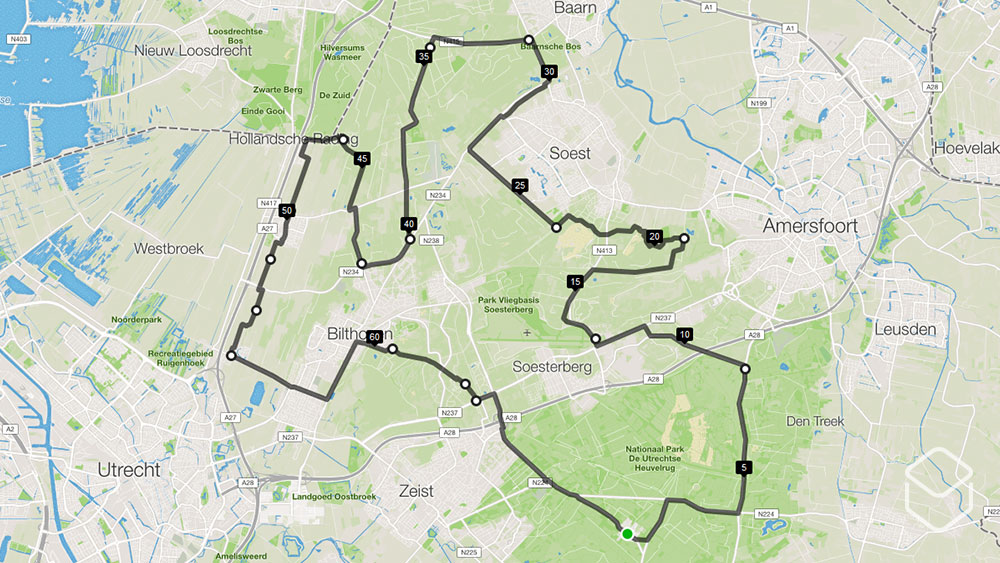 cobbles-wielrennen-routes-utrechtse-heuvelrug-70km