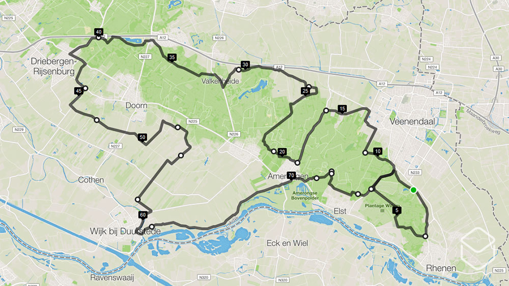 cobbles-wielrennen-routes-utrechtse-heuvelrug-80km