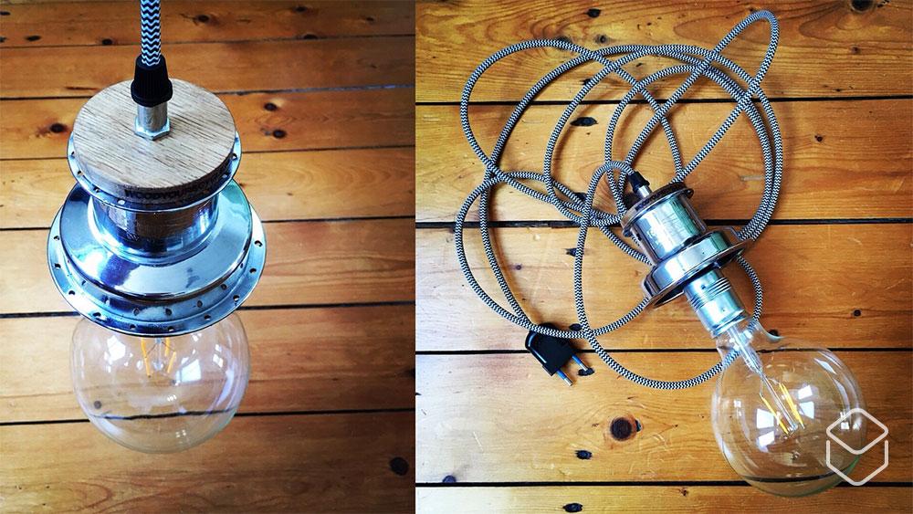cobbles lifestyle recycling fietsonderdelen naaf lamp