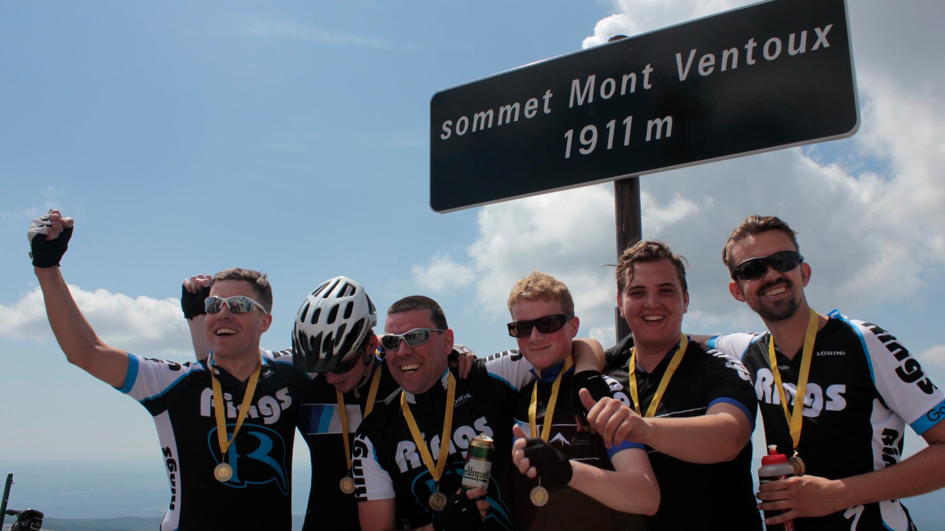 Goed doel: Team Mont Ventoux