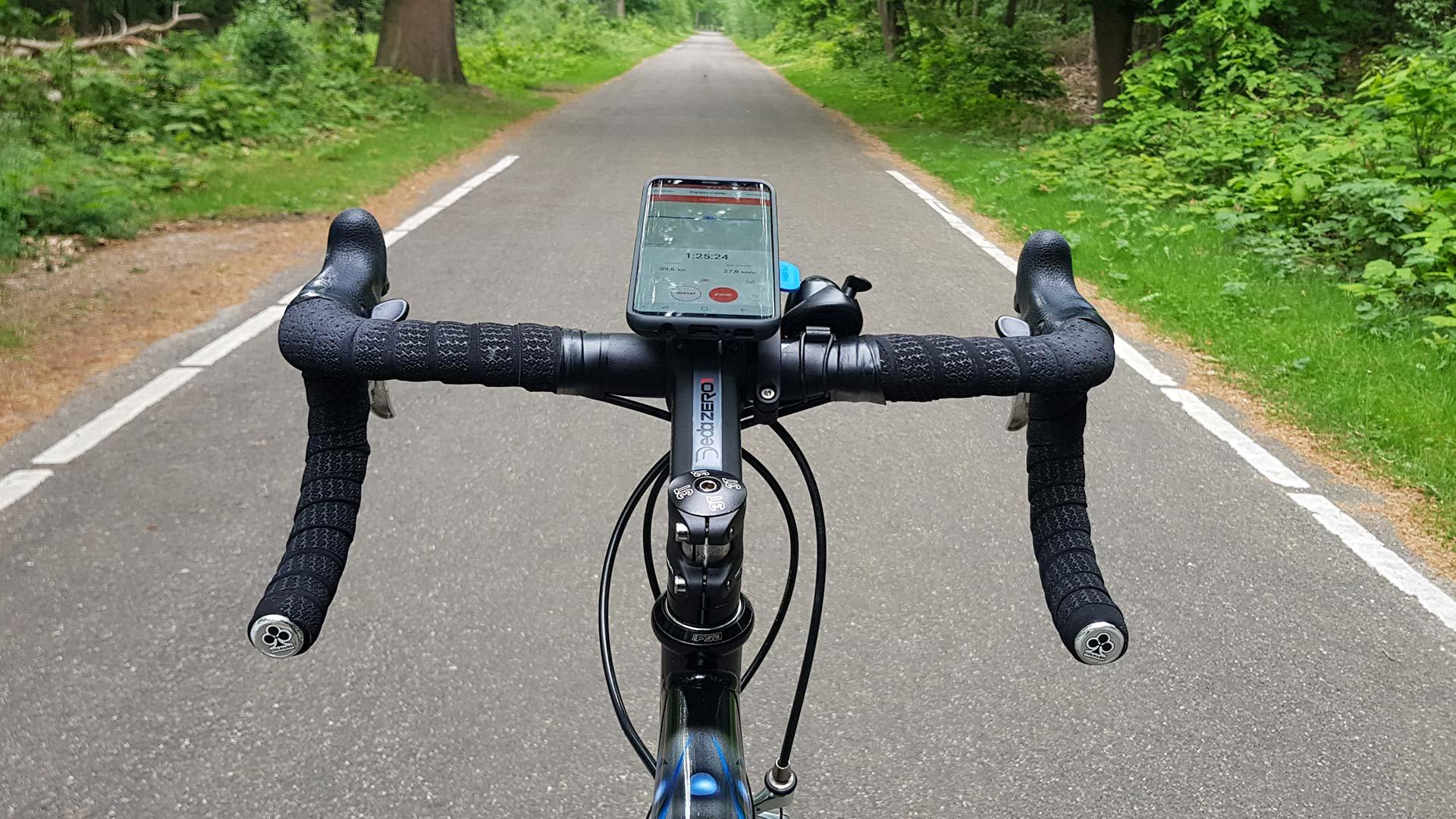 Mobiel op je stuur – Quad Lock review