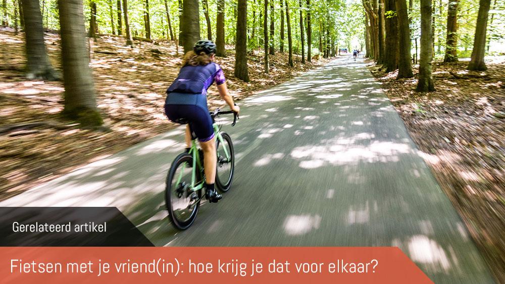 cobbles wielrennen fietsen met je vriendin gerelateerd