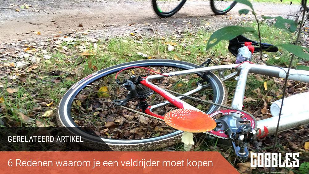 cobbles wielrennen cyclocross technieken gerelateerd