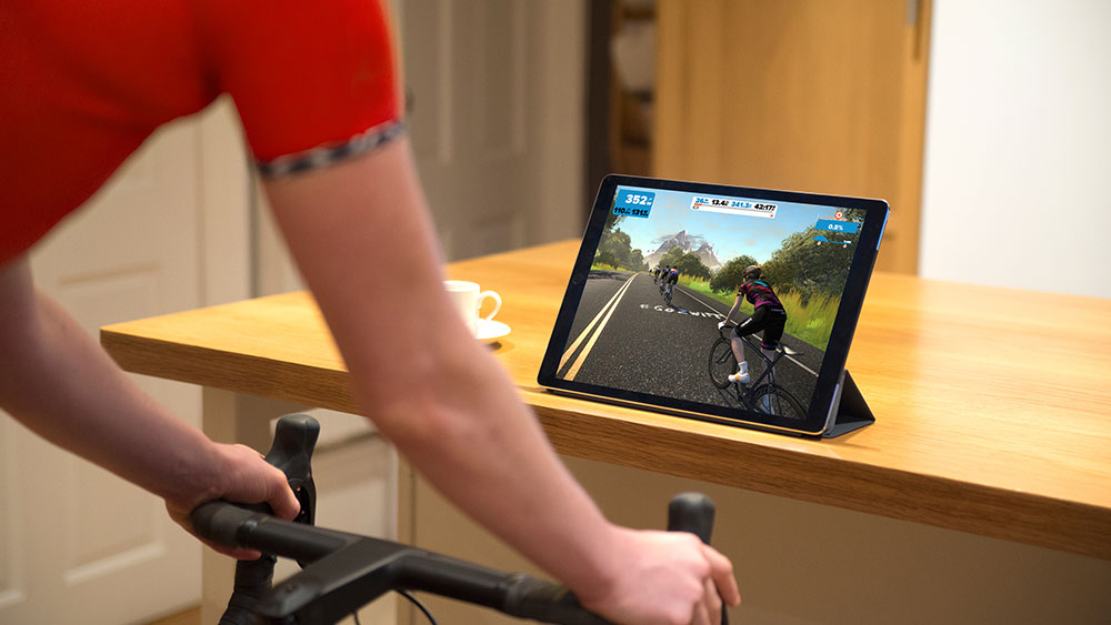 cobbles wielrennen zwift voordelen ipad