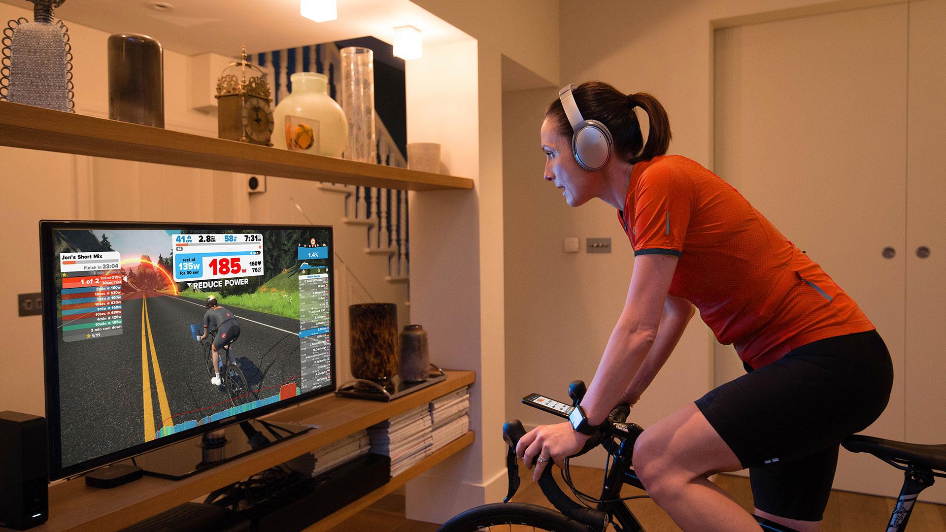 Zwift: de voordelen van virtueel fietsen