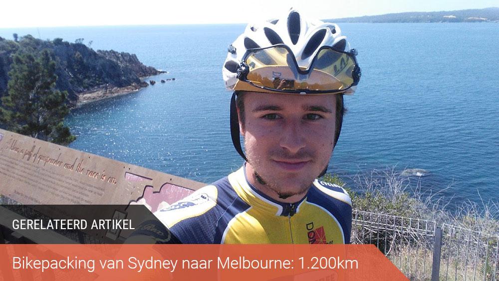 cobbles bikepacking australië sydney melbourne gerelateerd