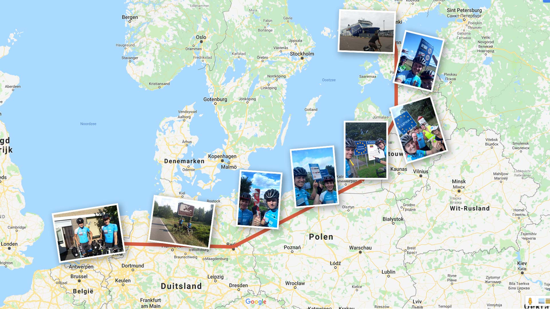 Bikepacking Oost-Europa: in 2282km van Nederland naar Helsinki