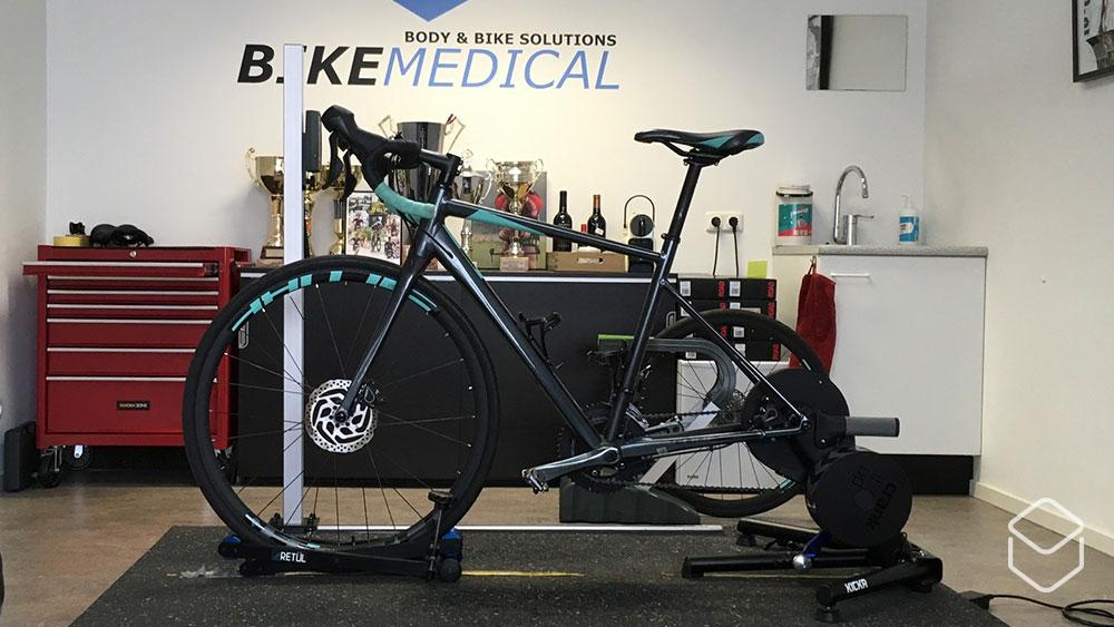 cobbles wielrennen bikefitting bikemedical opstelling