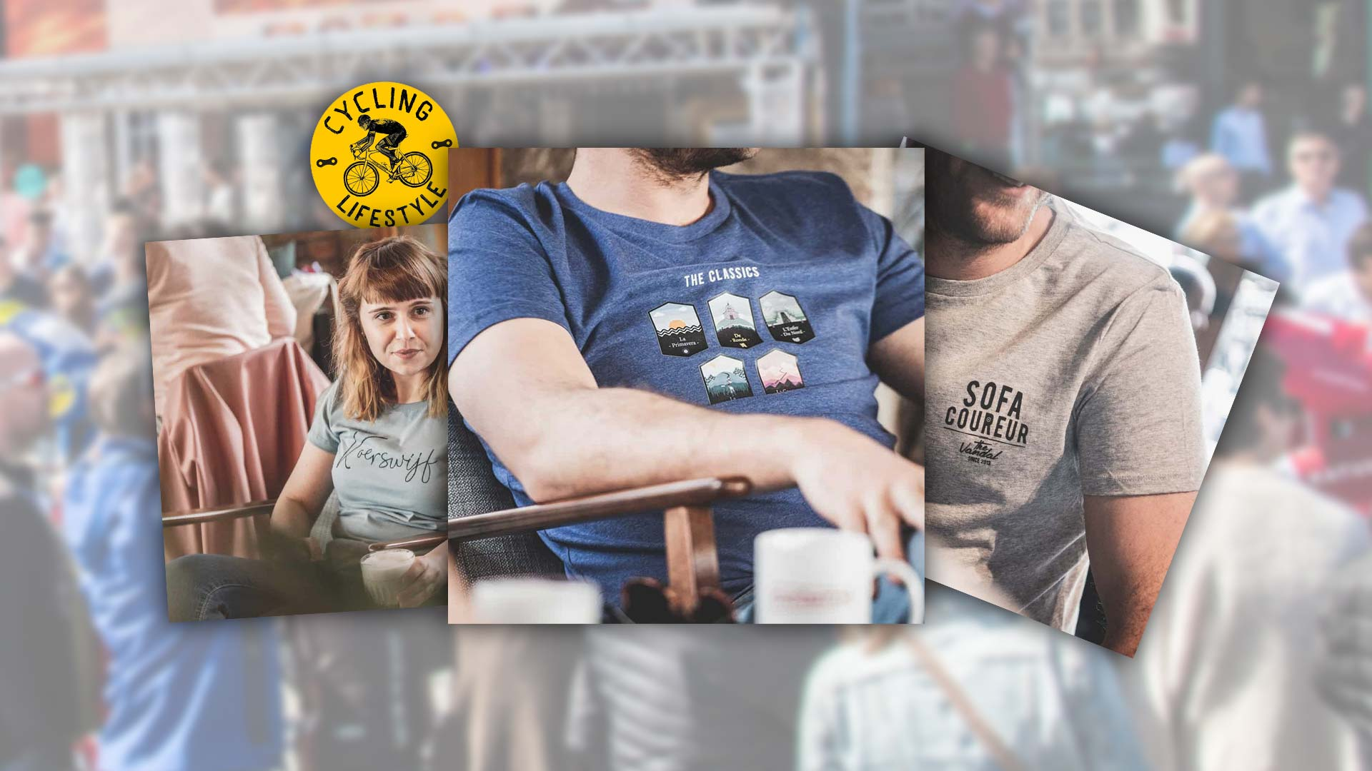 8 wieler t-shirts om je helden vanaf de bank aan te moedigen