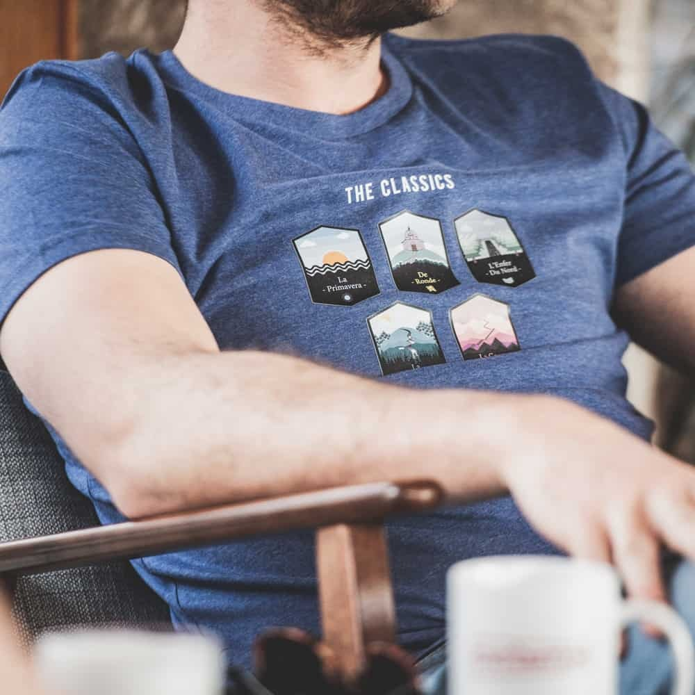 cobbles wielrennen lifestyle t-shirts cyclinglifestyle the vandal the classics