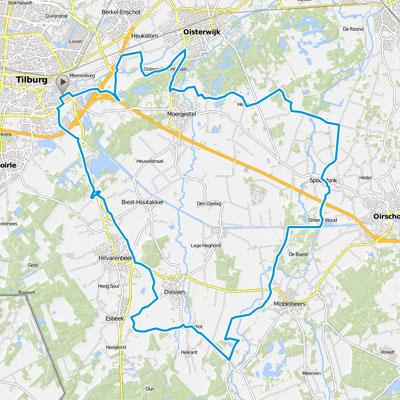 cobbles dinsdagavondrit wielrennen tilburg route 2019