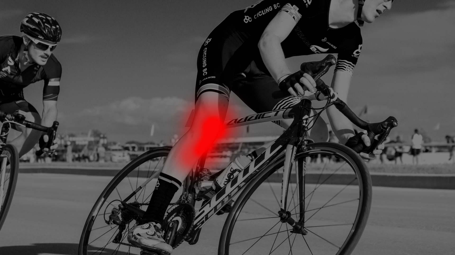 Knieblessure wielrennen: voorkomen en genezen