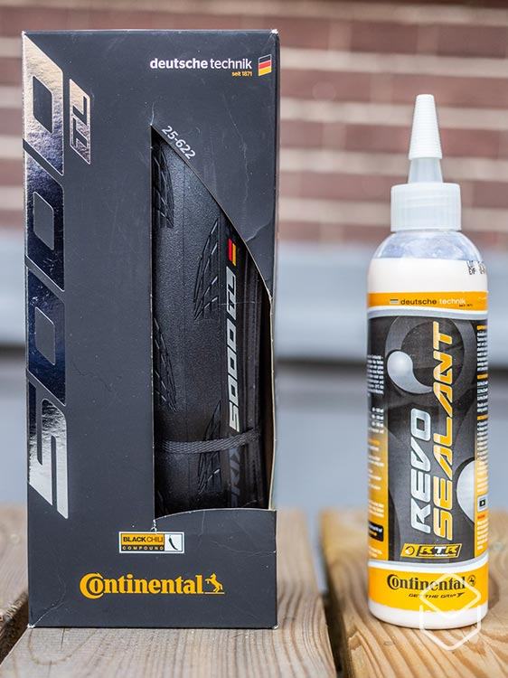 cobbles wielrennen tubeless racefiets banden continental grand prix 5000 sealant