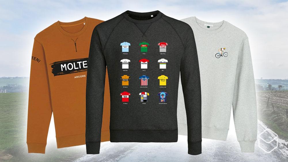 cobbles cyclinglifestyle fietscadeau cadeau fietser sweaters heren