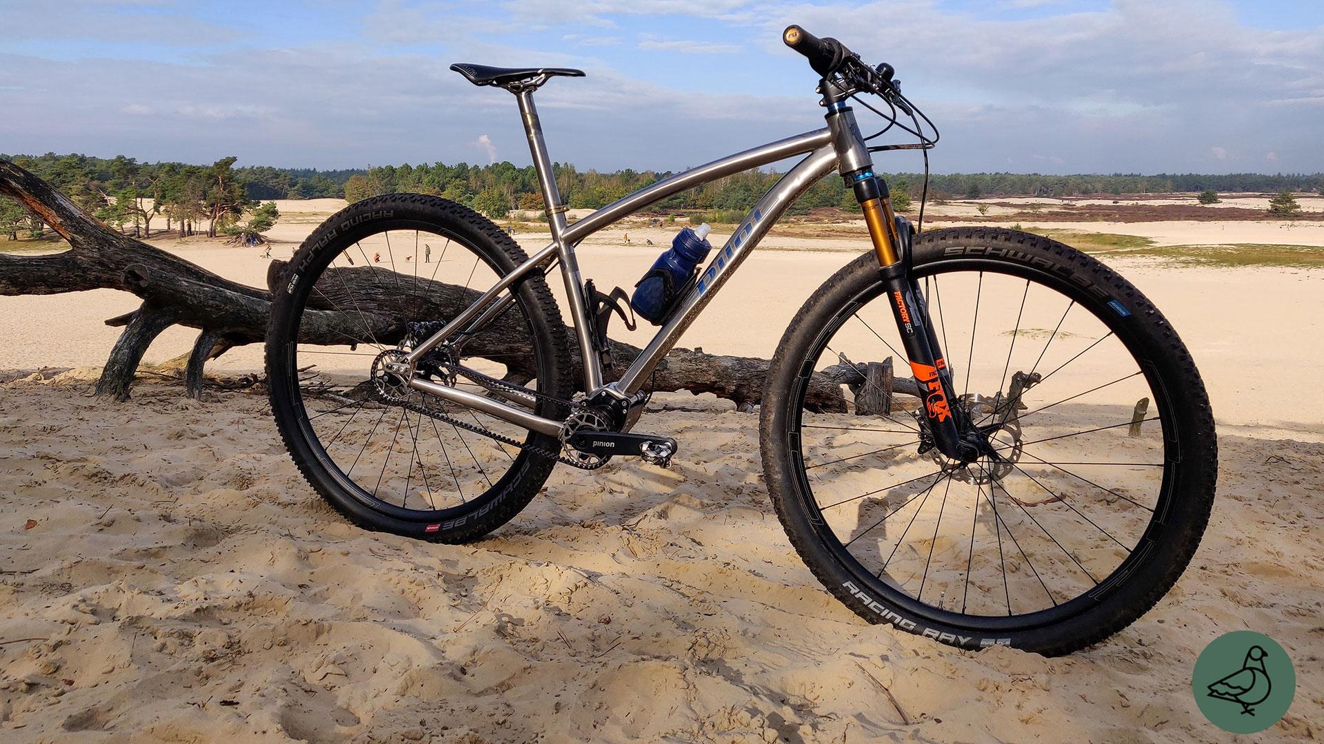 Pilot Duro Pinion: titanium mountainbike voor avonturiers