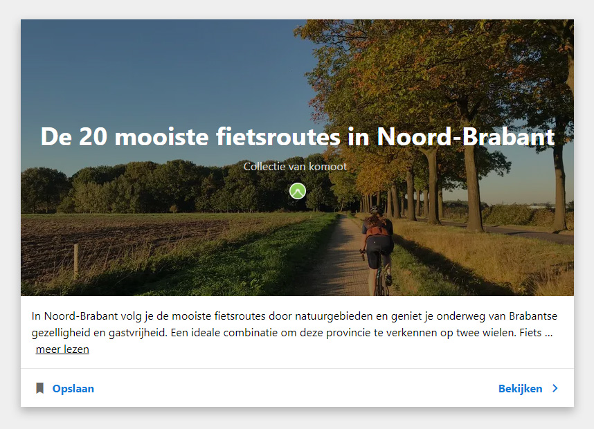 cobbles routes wielrennen gravel komoot inspiratie noord-brabant