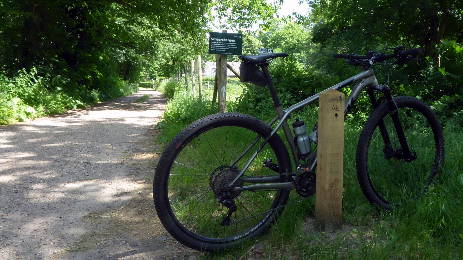 Mountainbikeroute Schaarsbergen: routenetwerk Zuid-Veluwe blijft groeien