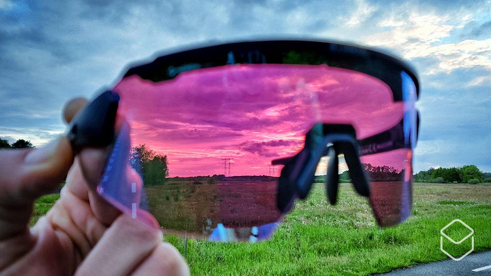 cobbles review bliz eyewear fietsbril breeze nano optics nordic light lens paars